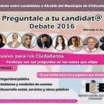 ¿Qué le preguntarías al próximo alcalde o alcaldesa de Chihuahua?
