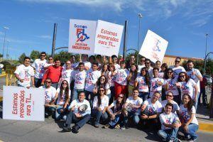 Docentes, estudiantes y personal administrativo de FCA