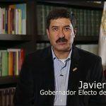 Felicitaciones de Javier Corral al Rector electo