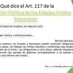 Congreso en Controversia: ¿Qué dice Art. 117?