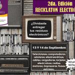 Reciclatón: Cada mexicano tira 8kg de basura electrónica al año