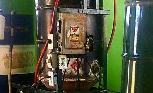 Generador de biocombustible.