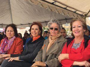 Dip. Blanca Gámez e integrantes del Observatorio de participación política de las mujeres de Chihuahua.