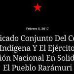 EZLN y Congreso Nacional Indígena, en solidaridad con pueblo ralámuli
