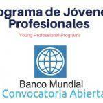 ¿Te gustaría trabajar en Banco Mundial y combatir la pobreza?
