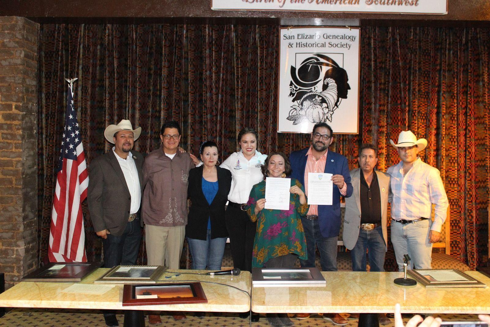 Firma de acuerdo de 6 municipios