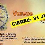 Antología Versos Norteados: cierra convocatoria hoy