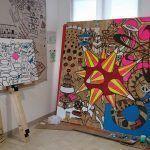 Inauguran la exposición Celesterra y Oribrijes de Alfy Espinosa