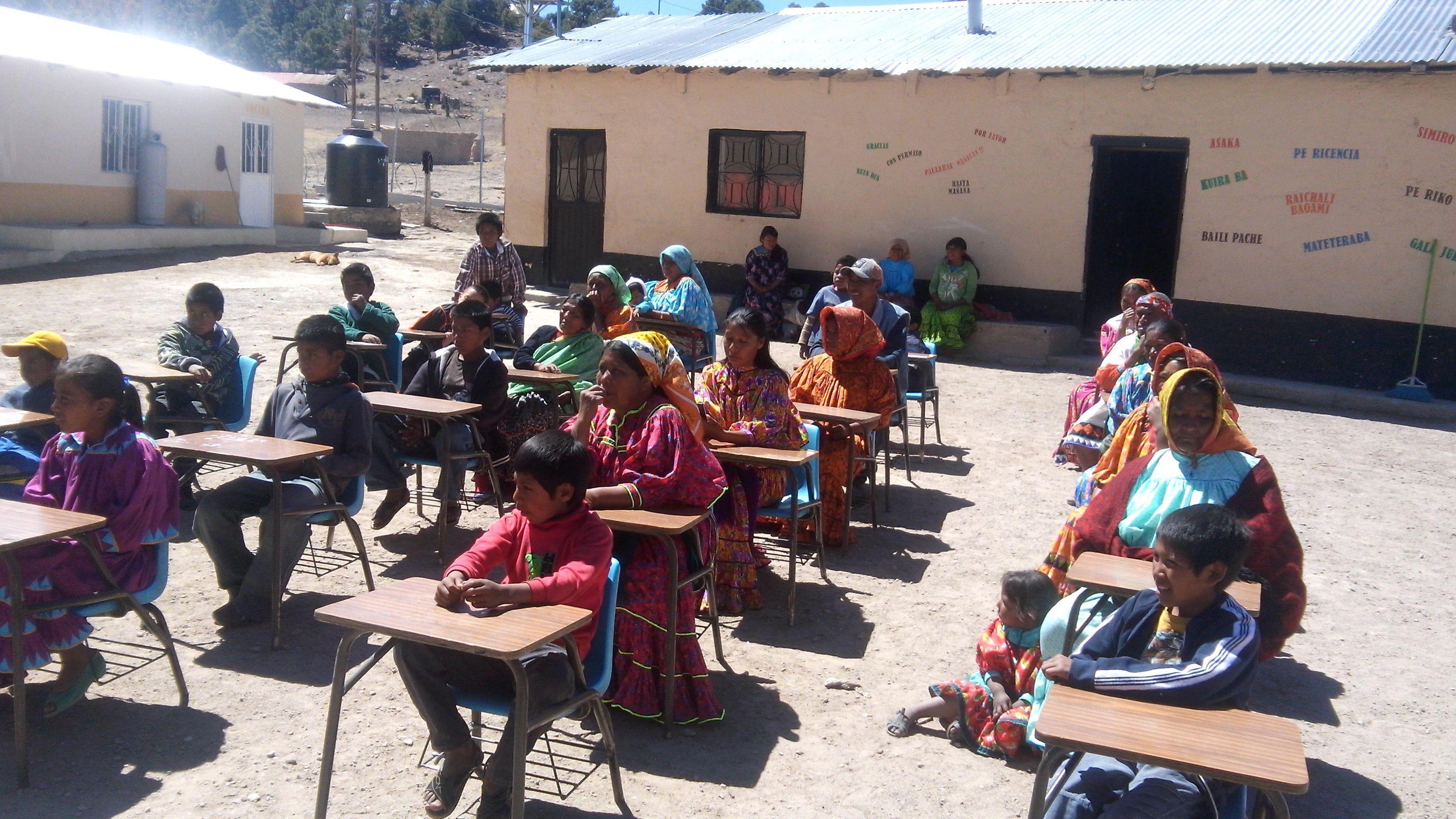 escuela indígena de Norogachi Guachochi