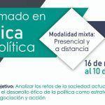 Inscríbete al Diplomado Ética y Política por IAPE-CIFYJ
