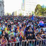 Multitudinarias marchas del orgullo LGBT+ tiñeron de arcoiris los espacios públicos