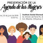 Presentarán agenda de mujeres en IEE; violencia sexual y desigualdad entre los temas