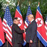 Trump y Kim Jung-un hablan sobre desnuclarización en Cumbre de Singapur
