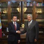 Primera reunión de AMLO y Peña en Palacio Nacional: TLC y macroeconomía