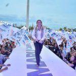 Maru Campos ganó la elección, primer alcadesa reelecta de Chih