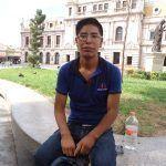 Leonel Barro, estudiante indígena busca crear albergue para foráneos