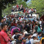 El éxodo de Honduras: 50%  mujeres en contingente que ya alcanza 7 mil