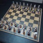 Alumnos del Cbtis 122 fabrican ajedrez con aluminio