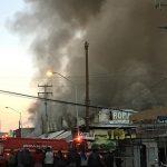 Se presume que en el incendio del Mercado Popular fueron afectados más de 210 locales