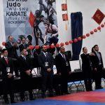 Fabiola Acosta, única jueza federada de kung fu en Chihuahua