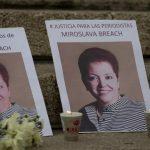 A dos años de la muerte de Miroslava Breach, periodistas exigen justicia