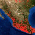 NASA crea app de incendios activos; hay 4 mil en México